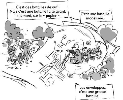 La BD du LHC de Lison Bernet: la bataille des enveloppes