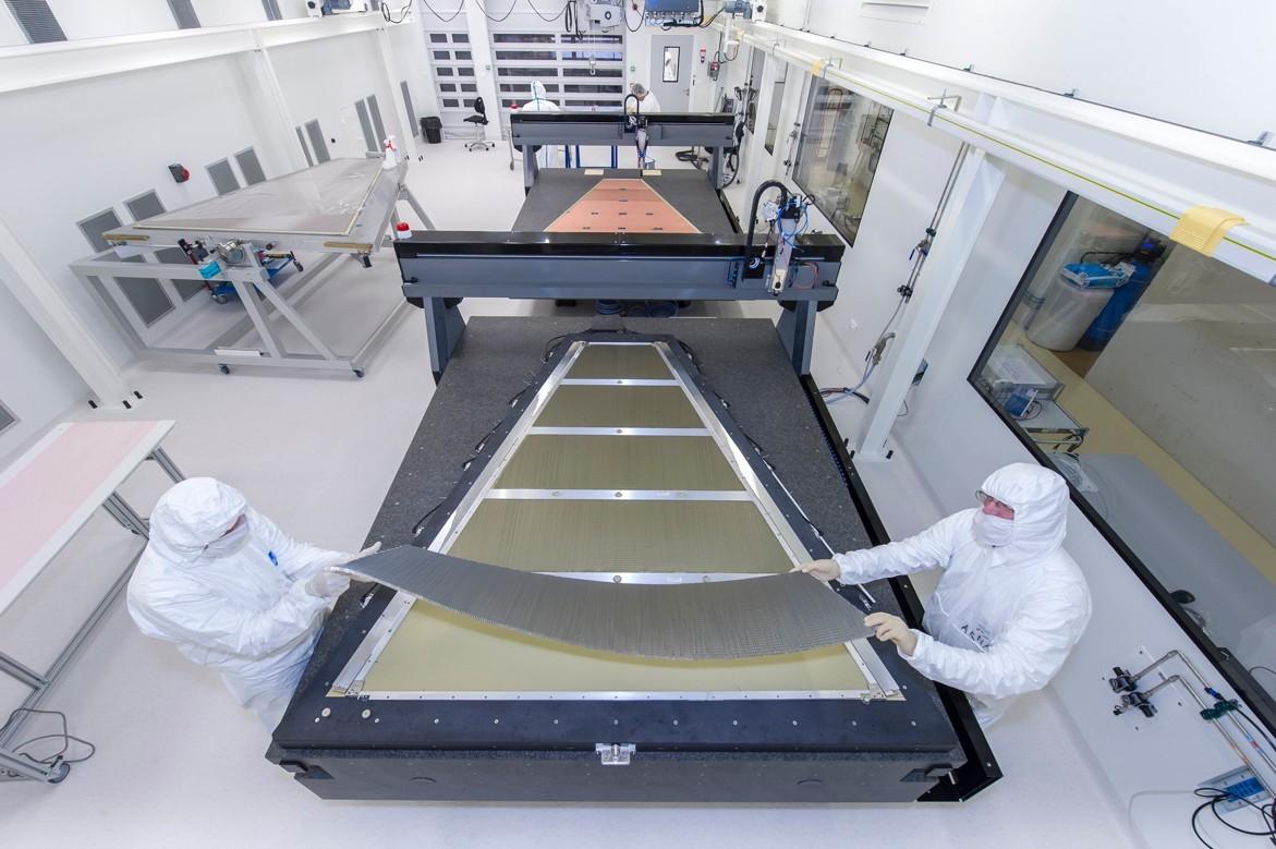 ATLAS-NSW : sortie du premier prototype et début des tests sur banc cosmique