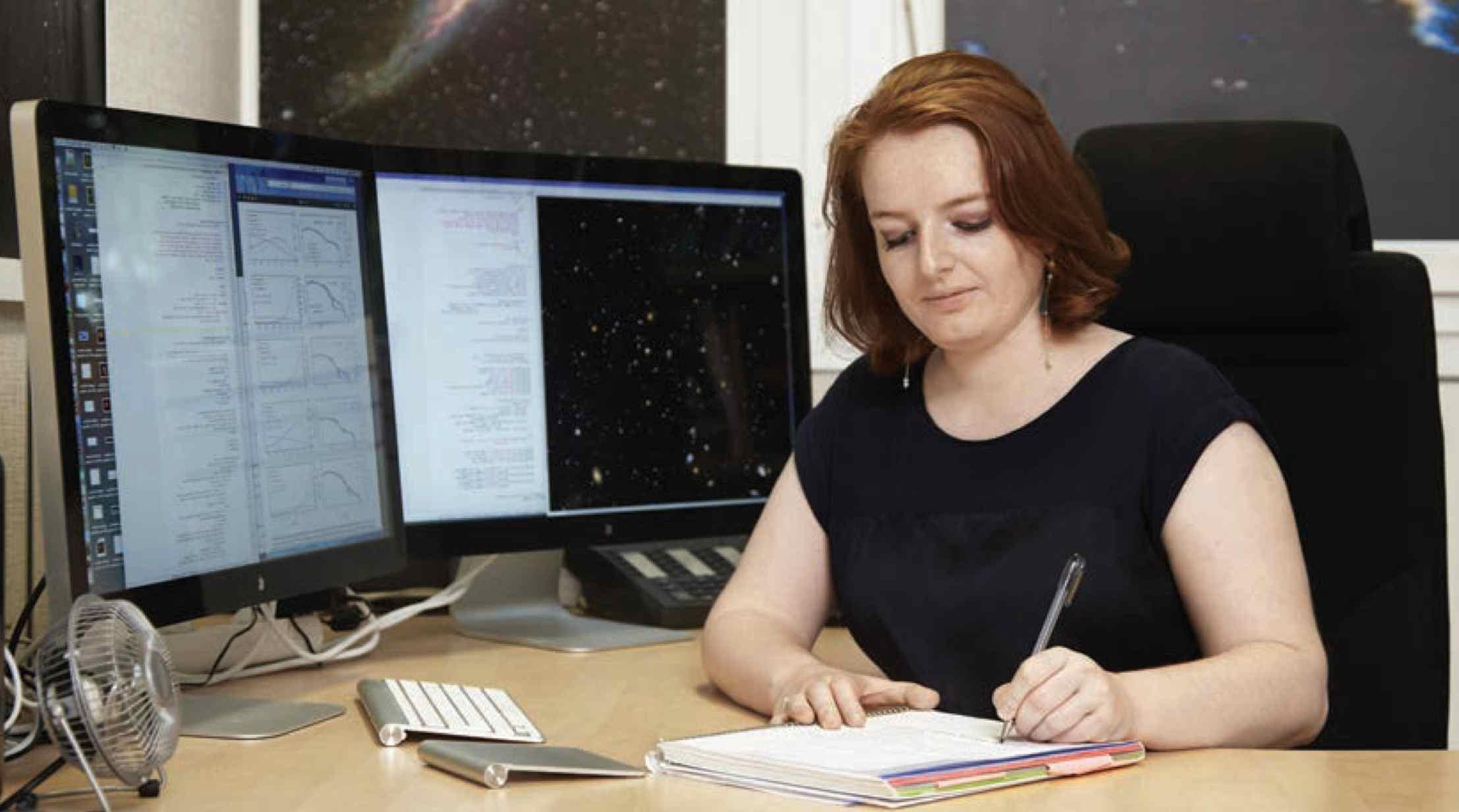 L'astrophysicienne Laure Ciesla, lauréate d'une bourse L'Oreal-Unesco Pour les Femmes et la Science