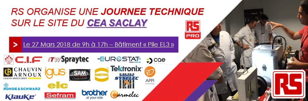 Journée Technique RS au CEA Paris-Saclay - Bâtiment 607G