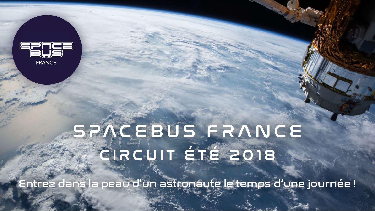 Appel à volontaires pour animer lors du SpaceBus France