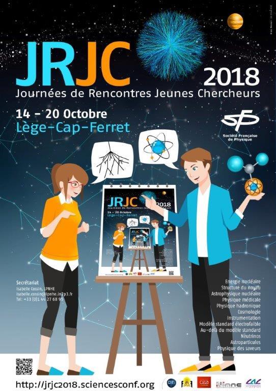 Journées de rencontres des jeunes chercheurs 2018 du 14 au 20 octobre 2018