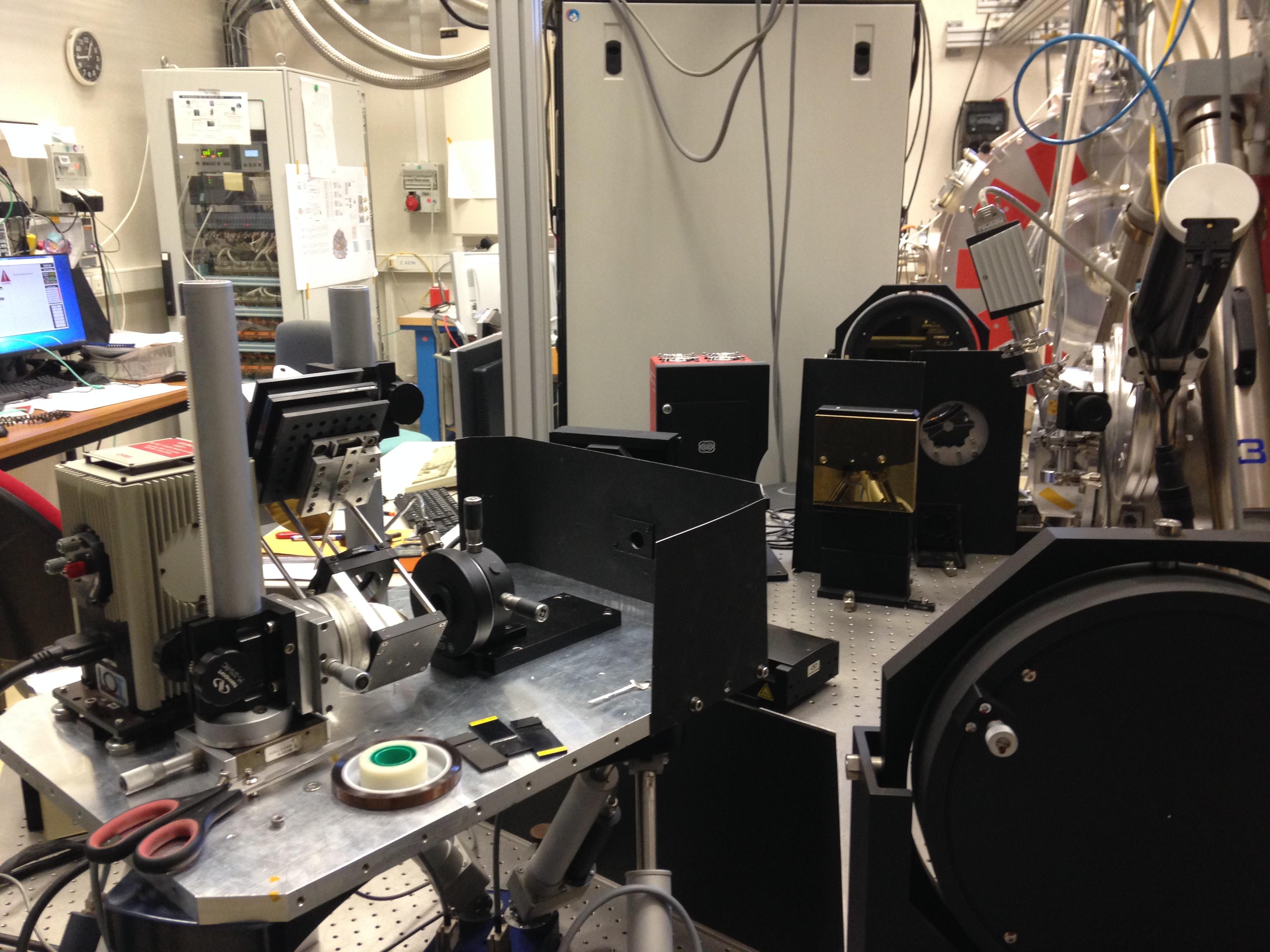 Tests optiques de l'Imageur de MIRI à l'Irfu