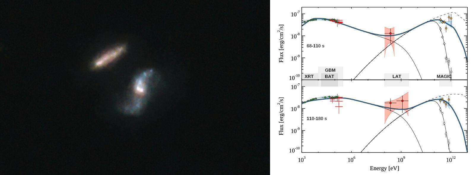 Emission ultra-énergétique d'un sursaut gamma et suivi radio