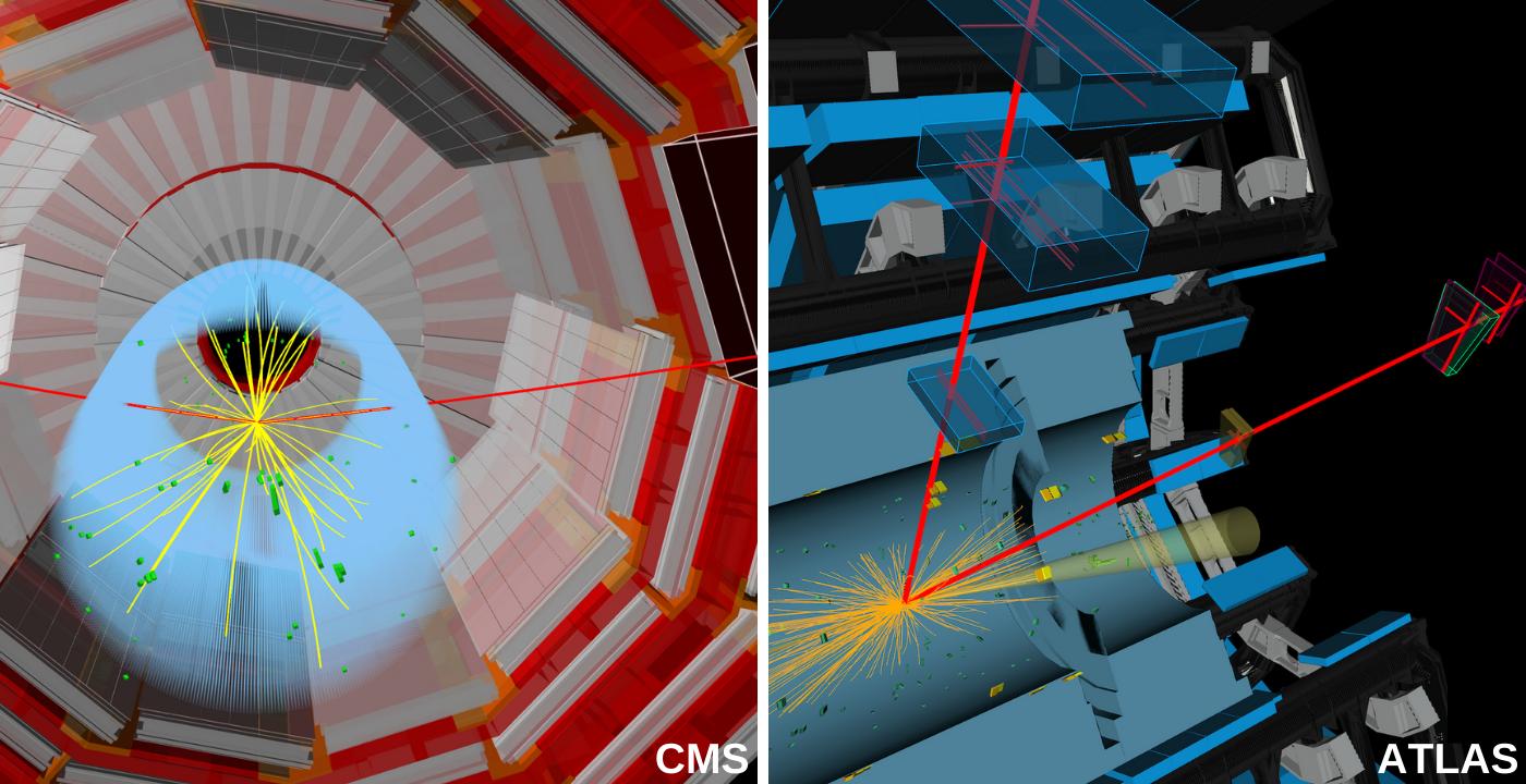 Deux expériences du CERN annoncent de premiers indices d'une désintégration rare du boson de Higgs