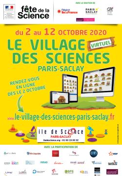 Fête de la Science, édition 2020: venez découvrir, virtuellement, le Village des Sciences Paris-Saclay