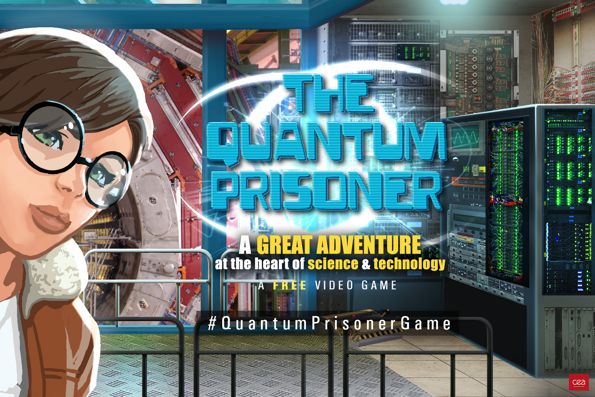 Launch of the English version of The Quantum Prisoner video game