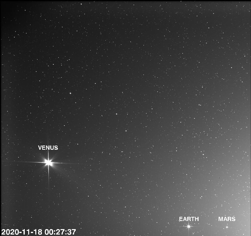 1re assistance gravitationnelle réussie du satellite SolarOrbiter avec Vénus !