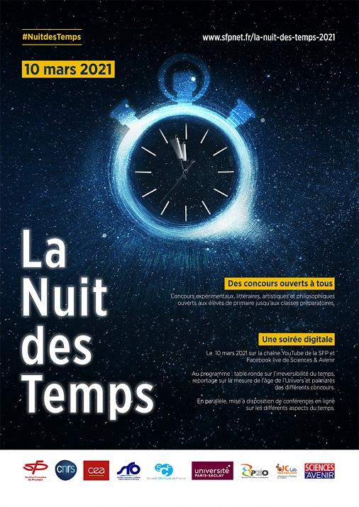 La Nuit des Temps le 10 mars 2021! rendez-vousdès 20h en direct livesurlachaîneYoutube de la SFP