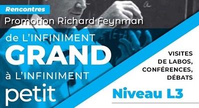 Rencontres d'été de physique de l'infiniment grand à l'infiniment petit, édition 2021, promotion Richard Feynman