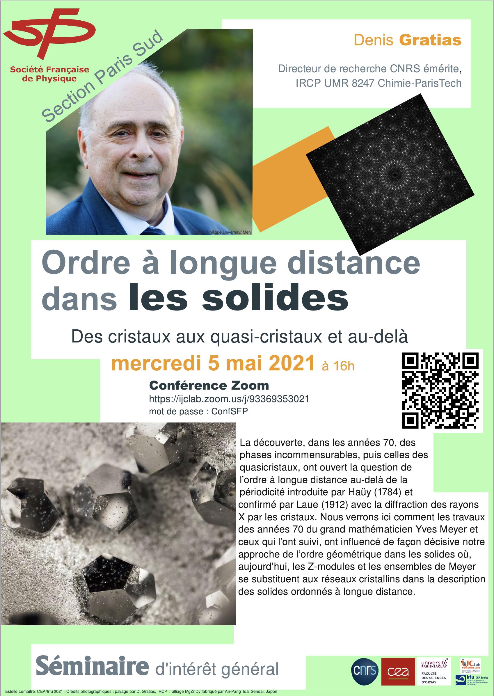 Conférence SFP :