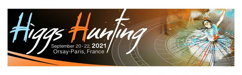 Higgs Hunting 2021 : du 20 au 22 septembre 2021: inscrivez-vous!