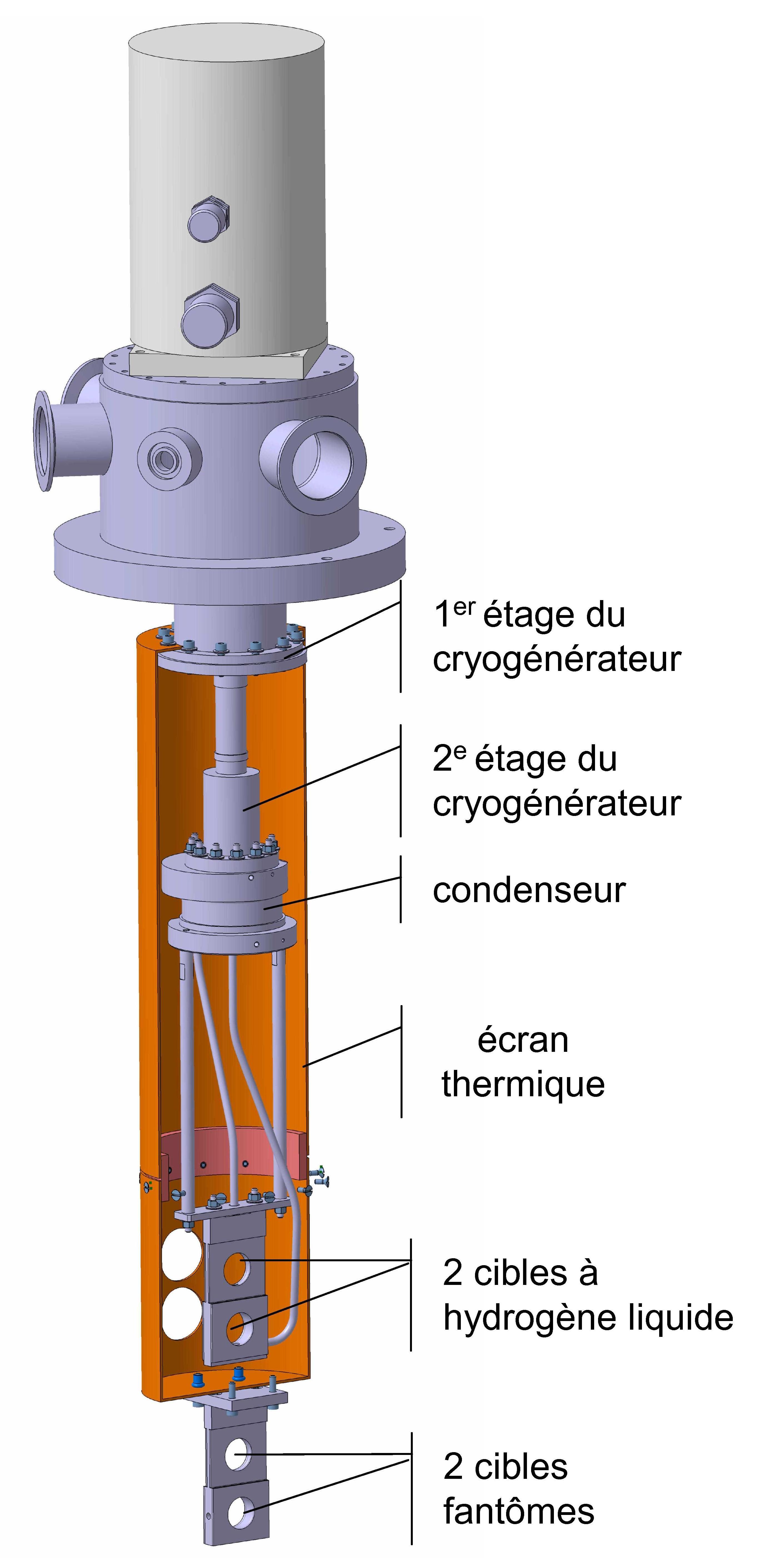 La cible à hydrogène Spaladin
