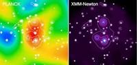 Planck : première découverte d'un superamas de galaxies grâce au rayonnement fossile