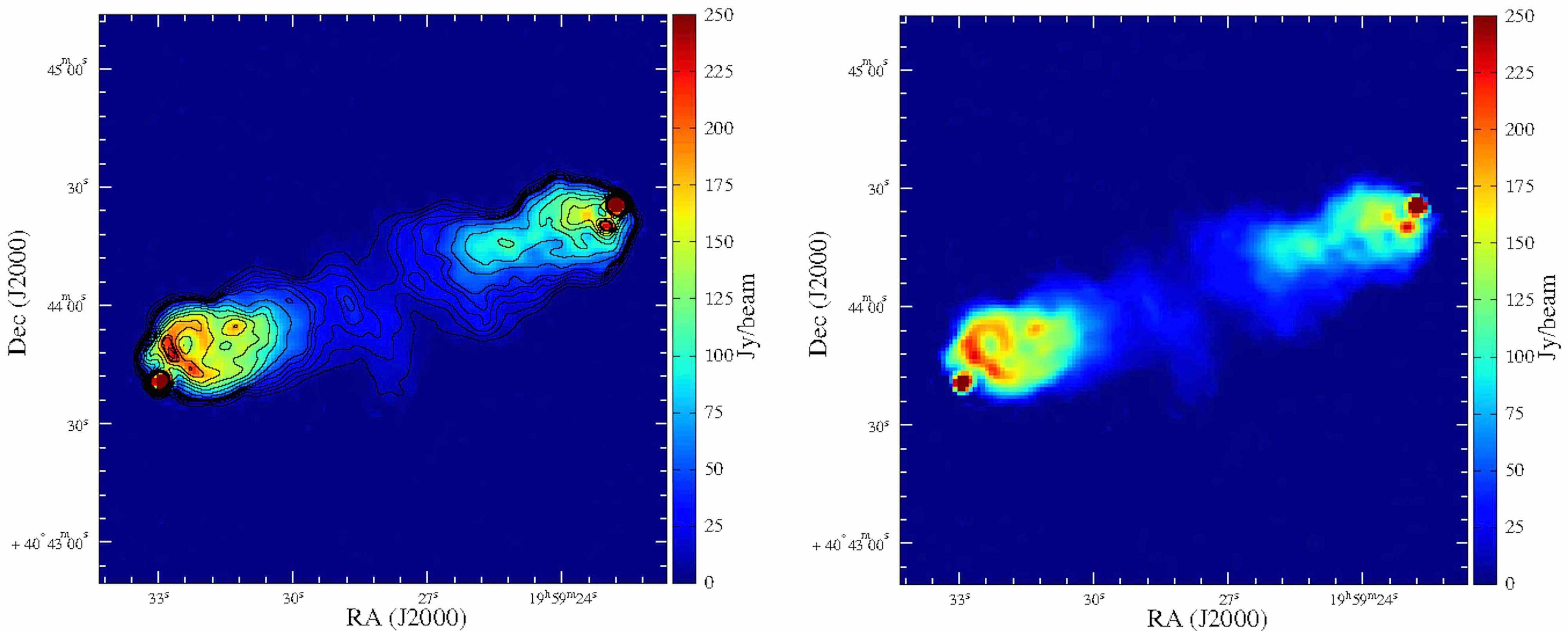 Imagerie super-résolue pour les radiotélescopes géants