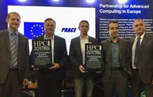 The discovery of the magnetic cycles of stars awarded the HPCWire 2017 prize