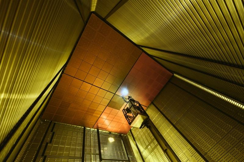 Une nouvelle technologie innovante pour détecter les neutrinos testée à grande échelle au CERN