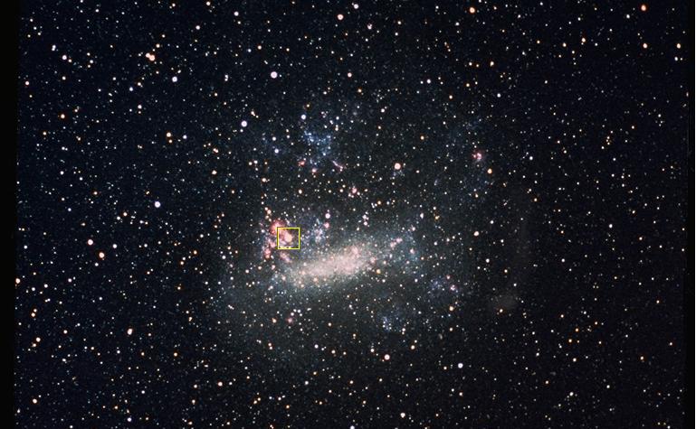 A-t-on retrouvé le coeur de la supernova ?