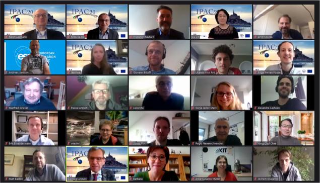 Le GANIL accueille la première conférence virtuelle de l'IPAC