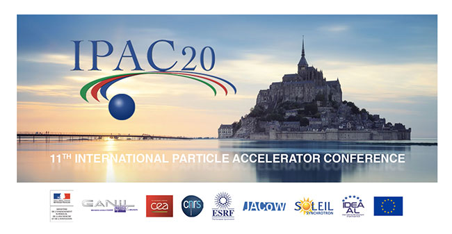 GANIL hosts the first virtual IPAC conference
