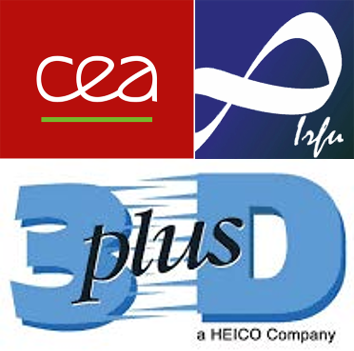 ALB3DO, a joint laboratory bringing together teams from CEA-Irfu and the French company 3D PLUS to develop X-ray and gamma-ray imagers in 3D technology