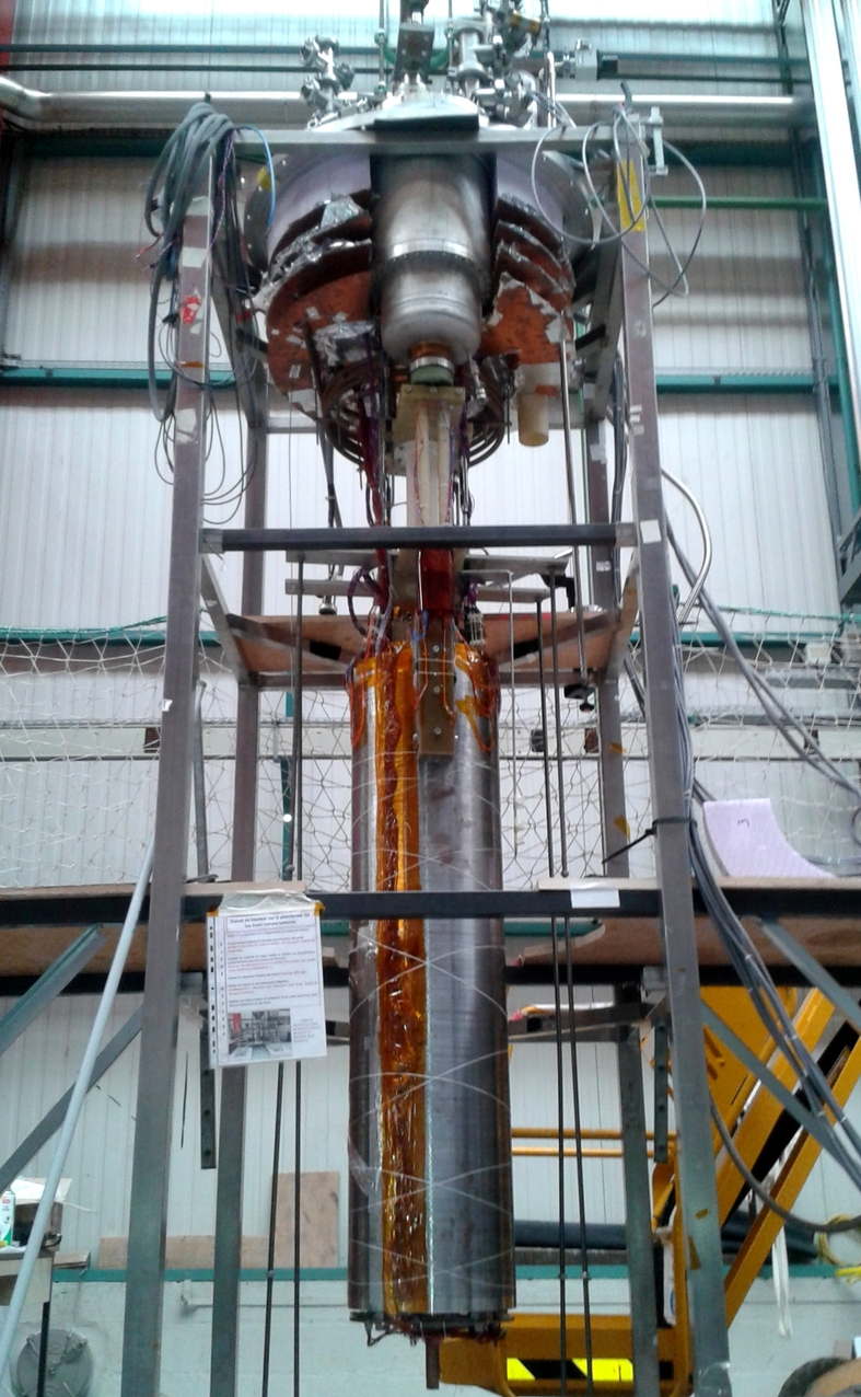 """First test successful for the insertion quadrupole """"MQYYM"""" for the HL-LHC project"""