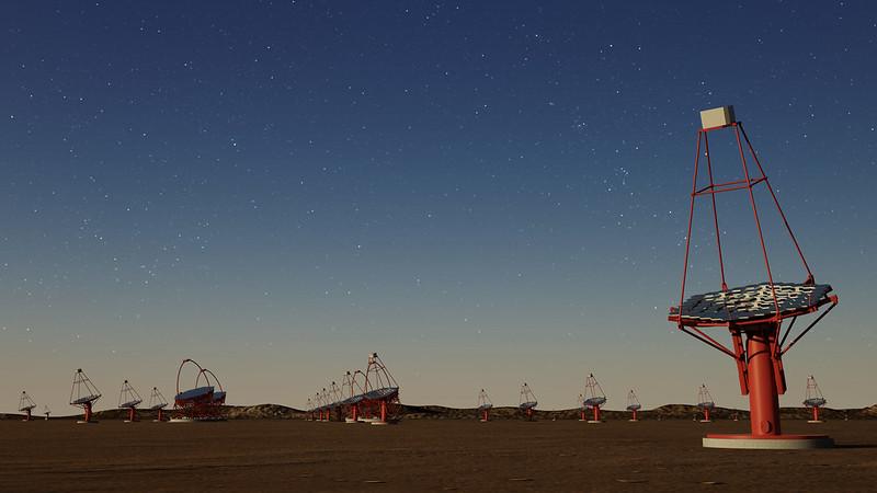 Gammapy sélectionné comme logiciel d'analyse officiel pour le Cherenkov Telescope Array