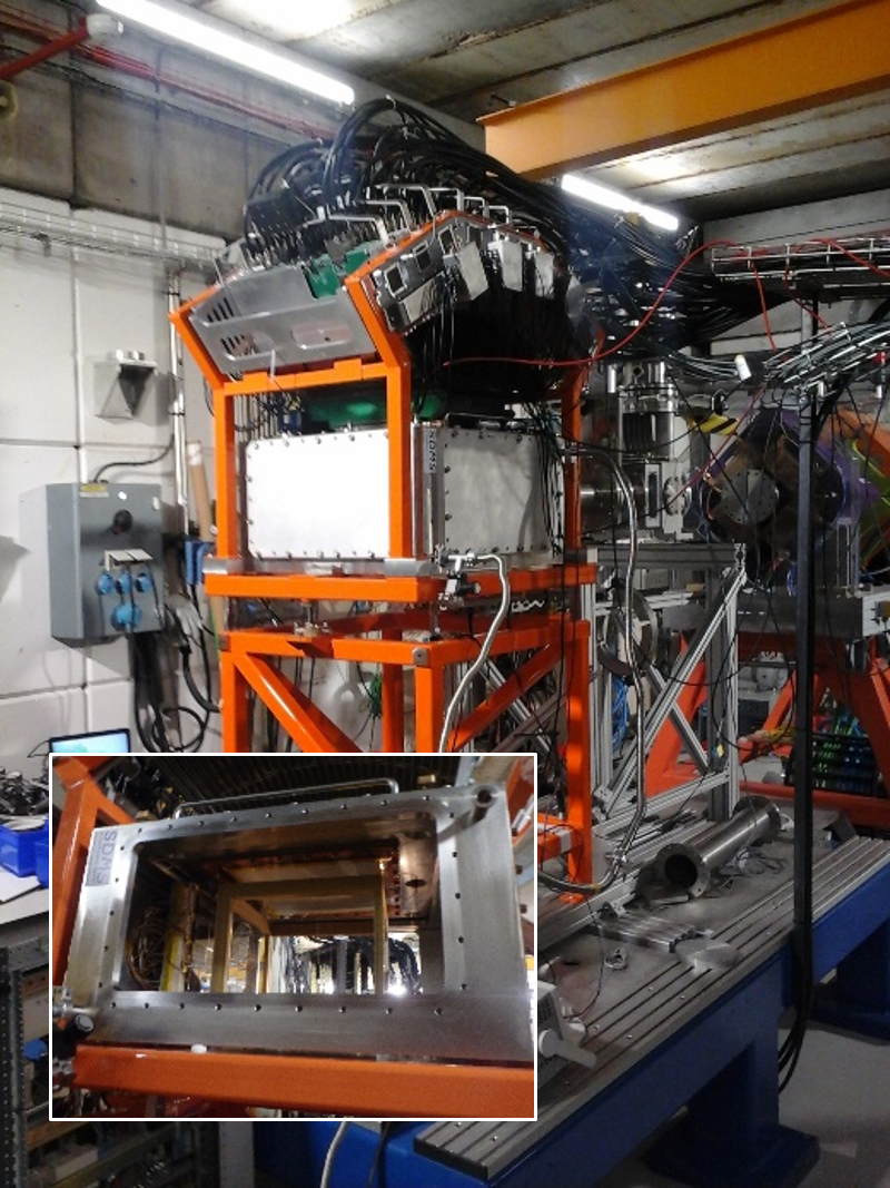 Visualisation 4D d'une radioactivité proton avec ACTAR TPC