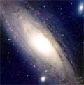Le passé tourmenté de la galaxie d'Andromède