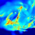 Naissance turbulente des �toiles dans le choc des galaxies