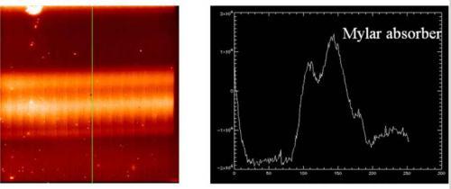 Premier spectre de l'instrument VISIR