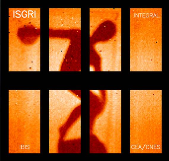 ISGRI : a revolutionary camera  for invisible light