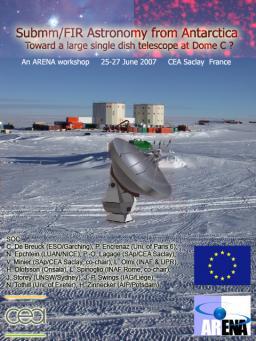 Submm/FIR astronomy from Antarctica