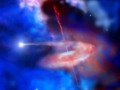 Signal d'alerte avant l'éjection de matière d'un trou noir