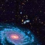 Première détection de gaz moléculaire dans des jeunes galaxies massives