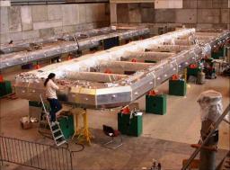 L'aimant toroïdal pour le détecteur Atlas