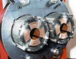 Superconducting quadrupole magnets for the LHC