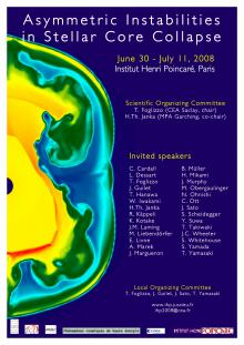 Workshop : Asymmetric instabilities in stellar core collapse