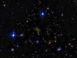 Le taux d�explosion d��toiles massives : notre Univers est-il en train de s��teindre ?