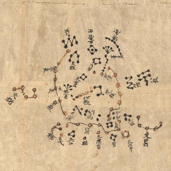 La plus ancienne carte d'étoiles connue Mr_2617_1