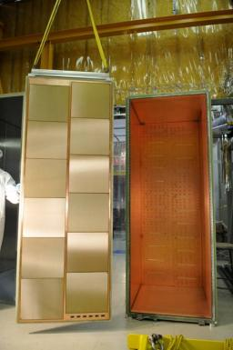 TPC particle trackers ready to detect neutrinos for the T2K experiment in Japan