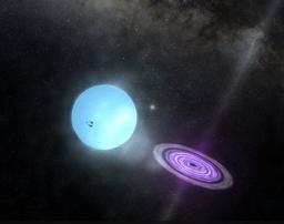 The power of a cosmic accelerator brought to light
