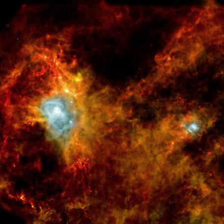 Images d'étoiles avant leur naissance