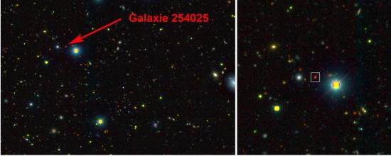 De très jeunes galaxies géantes