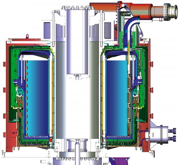 Projet LNCMI : L'électroaimant supraconducteur 8,5 teslas