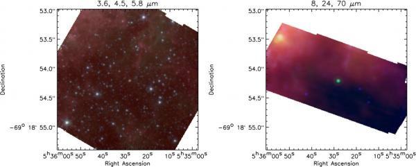 L'énigme du progéniteur de SN 1987A résolue grâce aux poussières ?