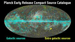 The PLANCK satellite produces its first results