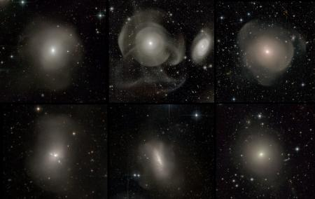 Galaxies elliptiques bien plus complexes