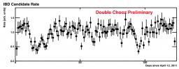 Première moisson de neutrinos  pour le détecteur lointain de Double Chooz