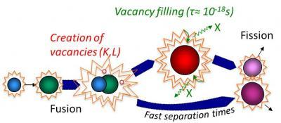 L��l�ment superlourd Z=120 mis en lumi�re par sa fluorescence X